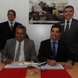 EMBRAER EXECUTIVE JETS SIGNS MOU WITH WIRA JASA ANGKASA FOR LEGACY 600 AND LEGACY 650 SUPPORT IN INDONESIA